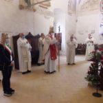 La benedizione del cardinal Menichelli