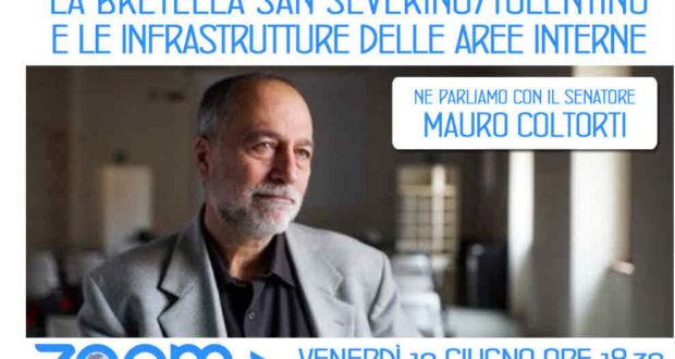 """Il senatore Coltorti interviene anche sulla """"bretella"""" San Severino-Tolentino"""