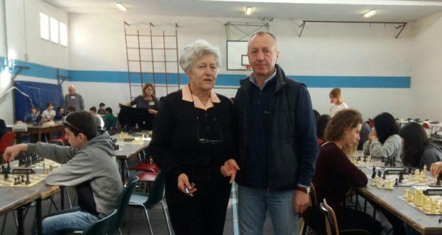 Caterina Ciambotti e l'assessore Paolo Paoloni