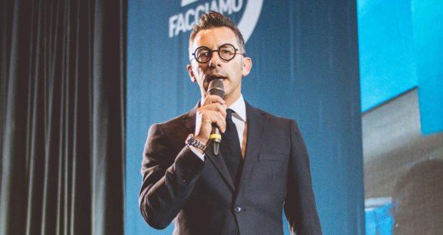 Il giornalista Daniele Pallotta