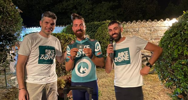 Da sinistra: Valerio Vissani, Lorenz Baccifava ed Emanuele Rocci