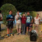 Il momento conclusivo a Villa Castelli con le aziende locali