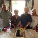 Anna e Giuseppe festeggiano le nozze di diamante con Rita Ticà e Paolo Feccia
