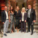 Da sinistra: Jacopo Orlandani, Barbara Chiappini, Chiara Nadenich, il sindaco Rosa Piermattei e Marco Moscatelli