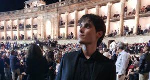 Paolo Moscatelli allo Sferisterio