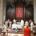 La celebrazione presieduta dal cardinal Menichelli