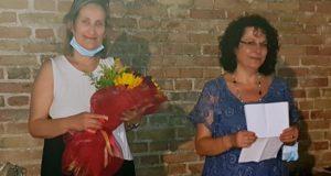 Susy Benedetti (a sinistra) con Daniela Lacchè