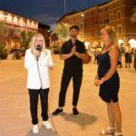 Il sindaco Rosa Piermattei inaugura il Giardino in piazza