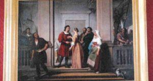 """L'opera del Bigioli, """"Raffaello e la Fornarina"""""""