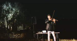 """La """"magia"""" della notte di San Lorenzo nella collina in cui sorge il secolare ulivo in cui si raccoglieva in preghiera la Beata Francesca dal Serrone"""