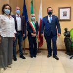 I rappresentanti del Movimento 5 Stelle ricevuti in Comune dal sindaco Rosa Piermattei