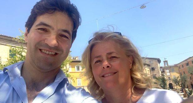 Francesco Acquaroli e Tiziana Gazzellini