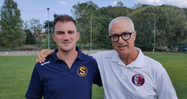 Stefano Tombolini e Francesco Giorgi