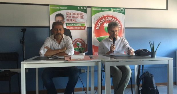 Giovanni Chiarella con Francesco Borioni