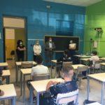 L'incontro con gli alunni