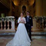 Gli sposi Morena e Marco