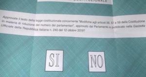 """Referendum: anche a San Severino ha vinto il """"sì"""""""