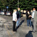 Il sindaco Rosa Piermattei con il preside Sandro Luciani
