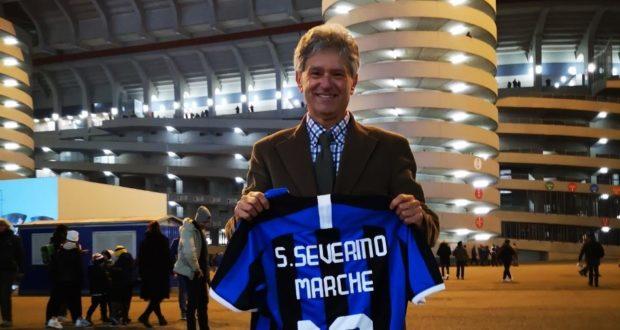 L'Inter club di San Severino premiato a San Siro in occasione del decennale