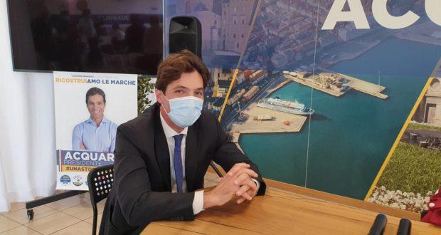 Il presidente Acquaroli