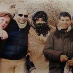 Gabriella Apollinari con gli amici di Serralta in occasione della tradizionale Befana