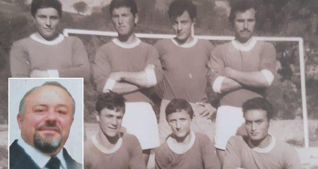 Renzo Bianchi: nella foto di squadra è il primo in piedi a sinistra