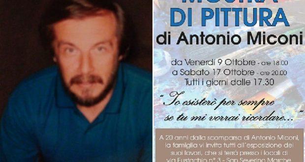 Antonio Miconi e l'iniziativa in sua memoria