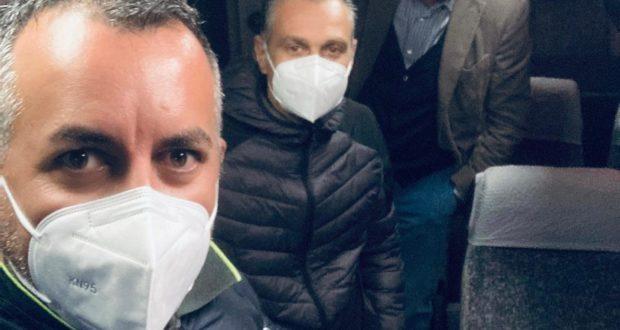 Adriano Compagnucci e Marco Moscatelli per Contram insieme a Giorgio Patrizi ( Villa Pini)