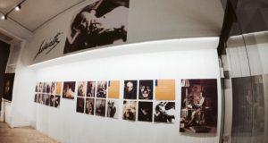 Un angolo della mostra dedicata a Remo Scuriatti