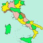 Fig. 6 – Mappa delle regioni italiane creata con solo 4 colori con focus sull'Umbria