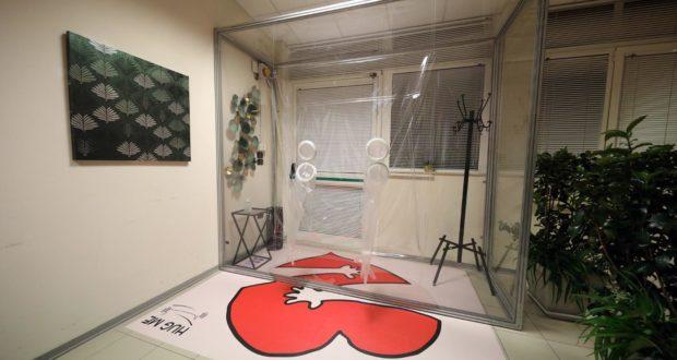 """La speciale stanza creata anche grazie a """"Tende Domizi"""""""
