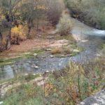Il Potenza visto dal ponte Sant'Antonio...
