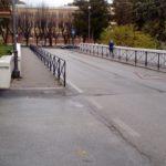 Il ponte principale di collegamento con il rione Di Contro