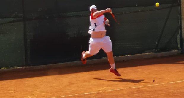 Matteo Midei in azione