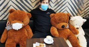 Luca Bonifazi a colazione con gli... amici