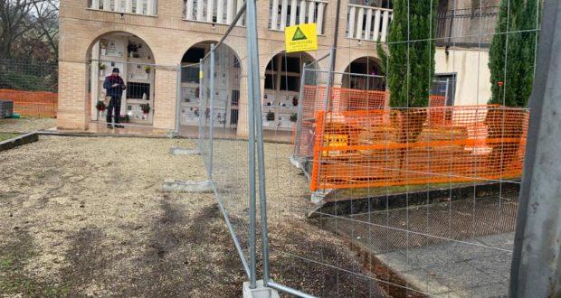 Al via i lavori di ampliamento del cimitero di Cesolo