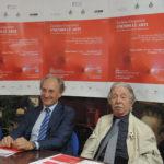 Luciano Gregoretti con il presidente della Fondazione Claudi, prof. Massimo Ciambotti