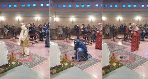 L'arrivo dei Re Magi nella chiesa di Santa Maria della Pieve