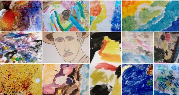 Le 13 opere dei bambini partecipanti