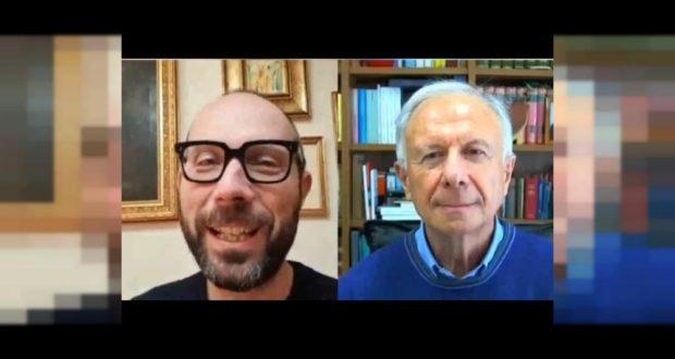 Il direttore artistico Francesco Rapaccioni intervista padre Alberto Maggi