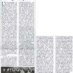 Il ricordo della professoressa Alda Minocchi sulle colonne dell'Appennino camerte
