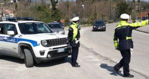 Polizia locale in servizio