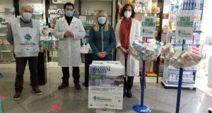 Il sindaco alla Farmacia Natali per l'iniziativa del Banco farmaceutico