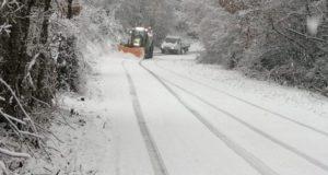 Neve, scuole chiuse oggi a San Severino