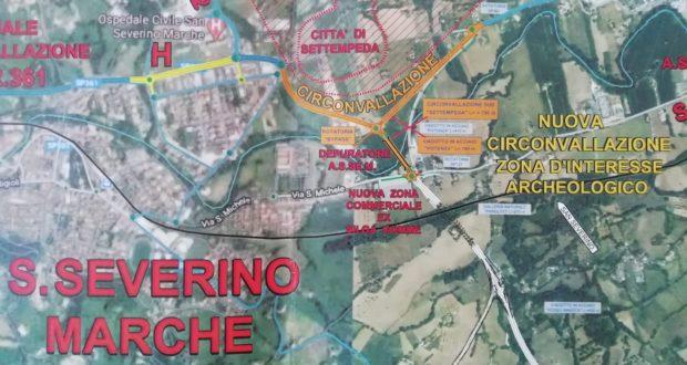 """Opere di raccordo fra la """"bretella"""" e la strada 361 proposte dal M5S"""