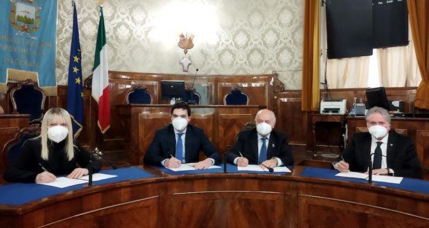 La firma del nuovo protocollo d'intesa