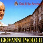 L'indimenticabile cartolina che accompagnò la visita del Papa