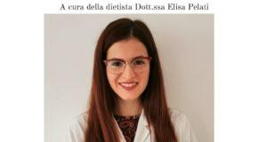 La dottoressa dietista Elisa Pelati