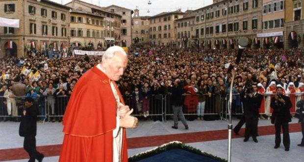 Giovanni Paolo II a San Severino: 18 marzo 1991