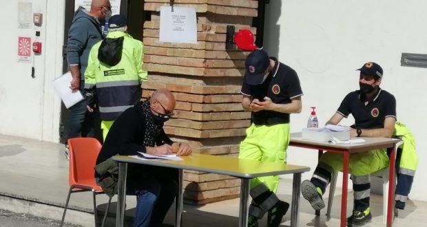 Sala Italia, continuano le operazioni di vaccinazione